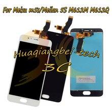 Купить 5.2 «черный/белый цвет для Meizu m5s/meilan 5S M612M M612Q полный ЖК-дисплей дисплей + Сенсорный экран планшета Ассамблеи 100% тестирование