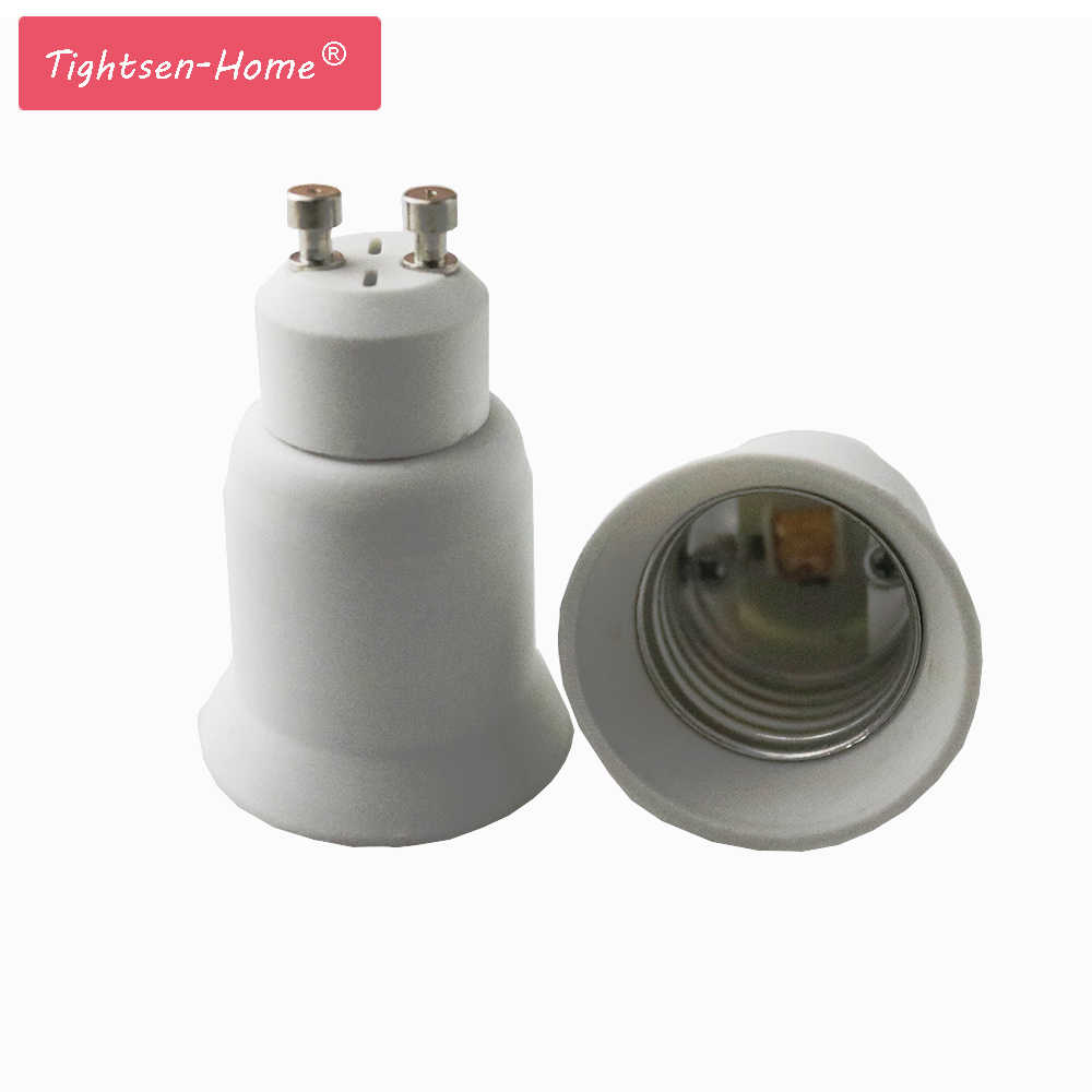 GU10 to E27 led lamp Base Screw Light Lamp Bulb Holder Adapter Socket Converter High Quality Lamp Holder Converter Plug Extender