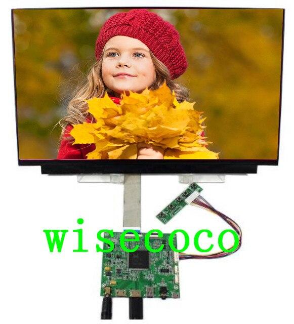 15,6 pulgadas 4 K 3840*2160 UHD pantalla Original DisplayPort Driver Board gran angular DP LCD NV156QUM-N32 Módulo de pantalla monitor portátil