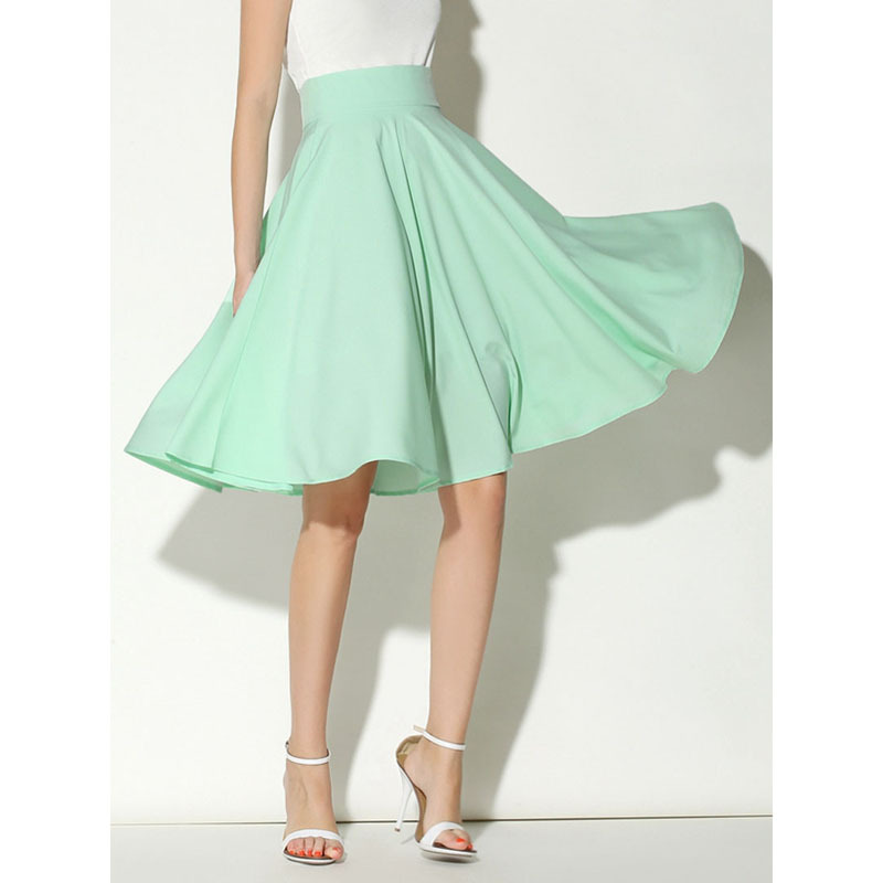 32226cf63e4223 Ravishing Knee Length Skater Skirt - DealBola.com
