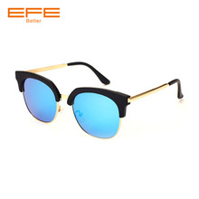 4308cb7d276 EFE Vintage Semi-Rimless Brand Designer Sunglasses Women Polarized UV400  Shades Classic Oculos De Sol Gafas Retro Sun Glasses