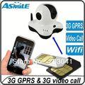 Home security 3g cartão da câmera sim
