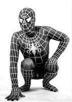 2017 NEW Black Spiderman Costume Spider Man Suit Spider Man Costumes Adults Children Spider Man Cosplay