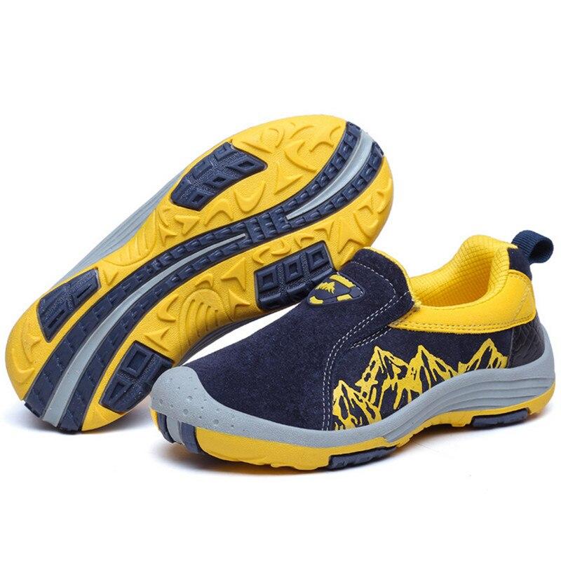 Véritable cuir enfants chaussures garçons filles baskets mode respirant imperméable enfants chaussures décontractées grande taille 31 41 haute qualité|Chaussures de sport|Mère et enfant -