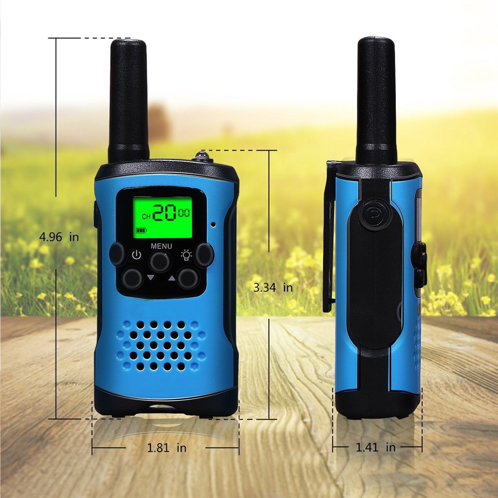 Image 4 - 2Pcs Two Way Radio Kids Mini Walkie Talkie Radio for Motorola Comunicador Amador Children's outdoor self driving talkie walkie-in Walkie Talkie from Cellphones & Telecommunications