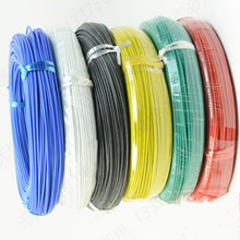 300 meters/roll (984ft) 24AWG high temperature resistance Flexible silicone wire tinned copper wire RC power Electronic cable heating wire high temperature nickel chromium resistance wire hot plates parts 1000w high quality