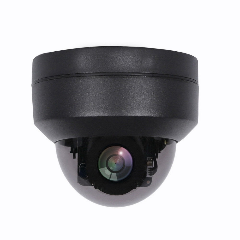 Waterproof 1080P Starlight PTZ IP Camera 2MP SONY307 Indoor Outdoor Dome Pan Tilt 4x Zoom Optical Black Home Security Camera POE