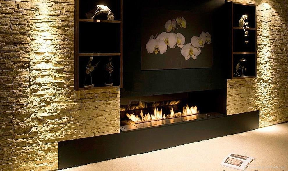 Inno Living Fire 60 Inch Bioethanol Fireplace With Remote Wifi Control
