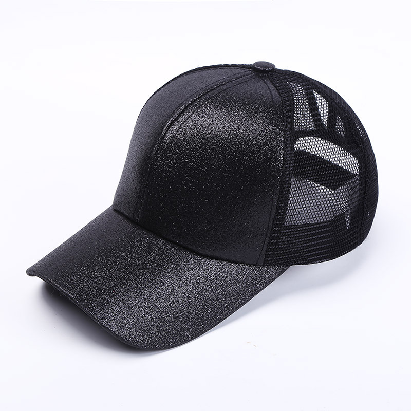acf62784f3e4c Detail Feedback Questions about Glitter Ponytail Running Cap Women Snapback  Hat Summer Messy Bun Mesh Hats Casual Adjustable Sport Caps Drop Shipping on  ...
