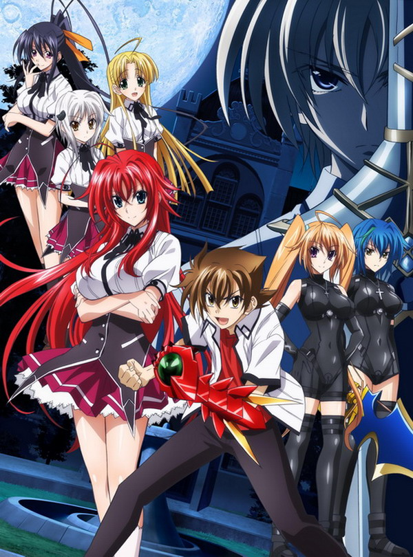 Decoration High School DxD Anime Characters 57*41CM Wall Scroll Poster #39421