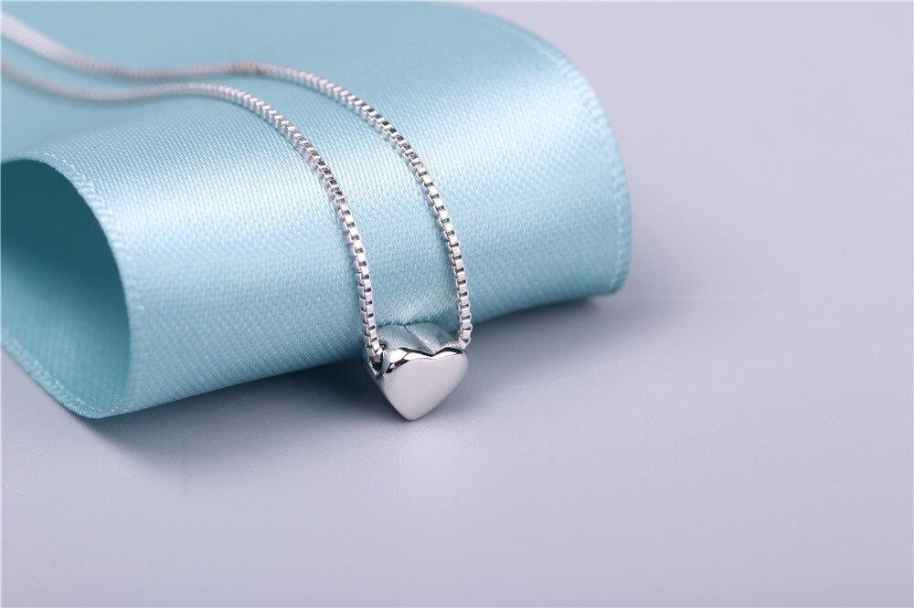 aeProduct.getSubject()  AAA 100% Silver 925 Necklace Shiny Coronary heart Necklace Sterling Silver Necklaces & Pendants FREE SHIPPING HTB15M6CKVXXXXc3XFXXq6xXFXXX6