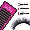 1pc All Sizes Premium 3D Volume Eyelash Extensions Lash JBCD Curl 2015 New Lash IIWAKA Brand