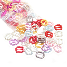 Bow DIY Buckle Decor-Accessory Sewing Acrylic Garment Lucia-Crafts Imitation-Pearls-Beads