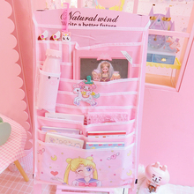 Cartoon Sailor Moon Hello Kitty My Melody Cinnamoroll Pudding Dog Cosmetic Bags Wall Hanging Book Bag Girl Storage Makeup Bags sheepet sp120452 my melody hello kitty