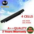 Ventas al por mayor nueva 4 celdas de batería portátil para asus a450 a550 f450 x450 f552 p450 x550 a41-x550 a41-x550a
