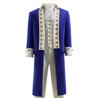 Hamilton Cosplay Costume Jacket Trench Coat Steampunk Show Stage Musical Costume