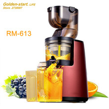 Large diameter juice machine home electric low-speed juicer More function slow grinding fruit and vegetables
