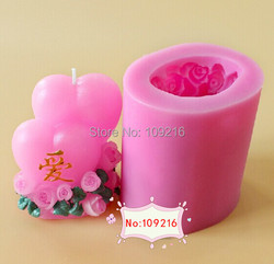 Wholesale 1pcs new 8 6 2 4 5cm 3d double love lz0137 silicone handmade candle mold.jpg 250x250
