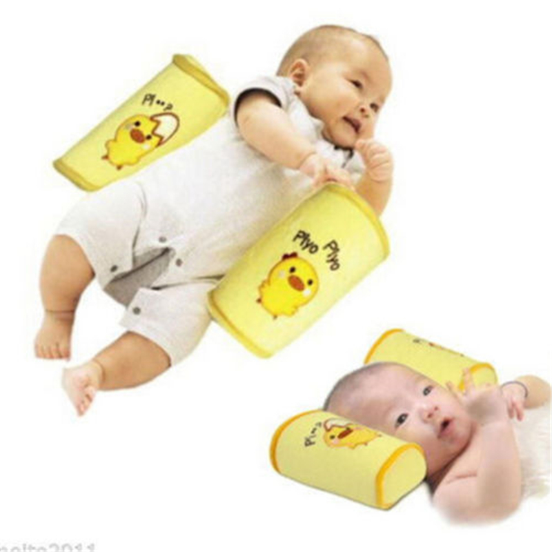 Baby Breastfeeding Pillows Newborn Positioner Anti Roll Pillow Shape Travel Car Seat Cushion Plush Toys Baby Pillow Positioners