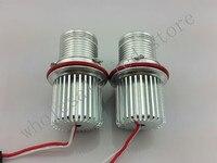 2pcs E39 20W LED Marker Car Angel Eyes Bulb For E87 E60 E61 E64 E65 E66
