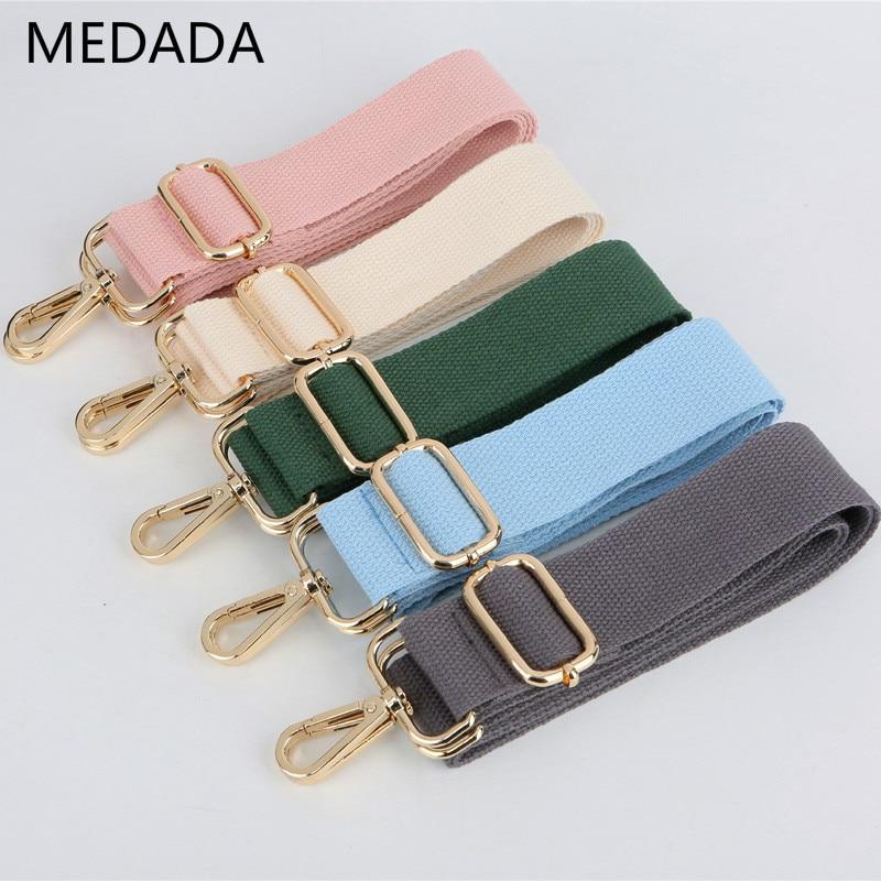 MEDAD NEW Shoulder Handbags  Bag Strap  Pure Color Fashion Accessories Man Women Adjustable  Length