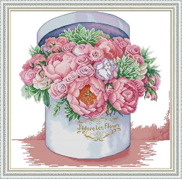 aromatic cross stitch kit