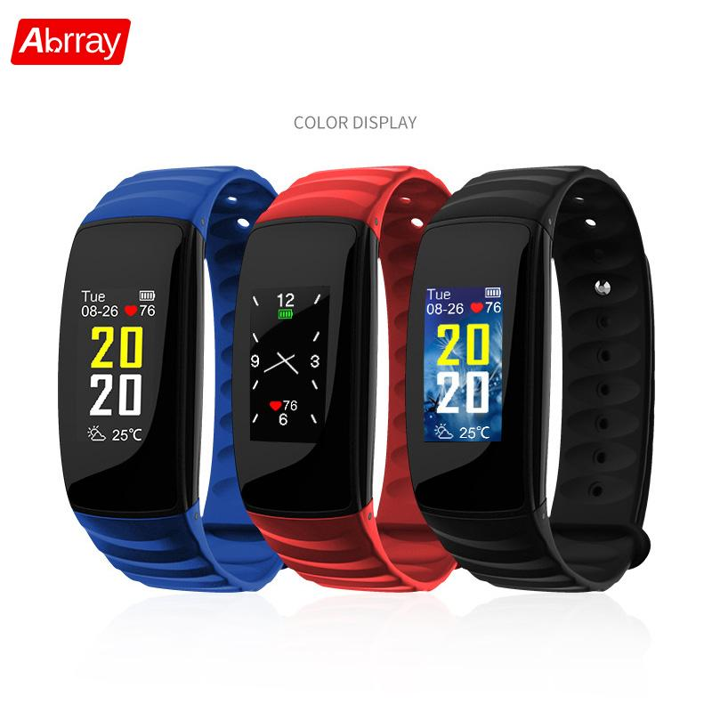 Abrray Fashion Smart Sport Watch Color Screen Pedometer Watch Women Fitness Step Tracker Digital Men Wristband Message Reminder bangwei men women smart watch information vibration reminder sedentary reminder music player fashion fitness smart digital watch