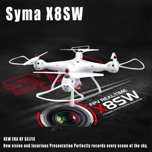 Original Syma X8SW Wifi FPV Quadcopter RC Drone With 720P HD Camera 2.4G 4CH 6-Axis Barometer Set Height RTF