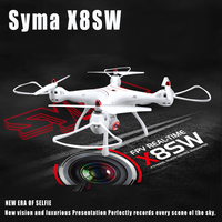 Original Syma X8SW Wifi FPV Quadcopter RC Drone With 720P HD Camera 2.4G 4CH 6 Axis Barometer Set Height RTF