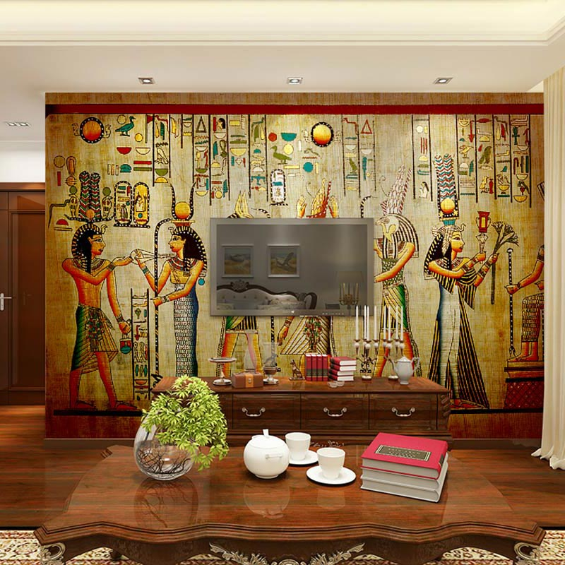 Popular vintage wall murals buy cheap vintage wall murals - Stickers papier peint mural ...
