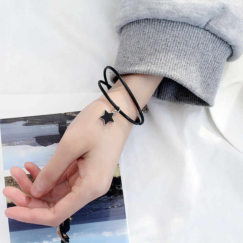 2019 New Fashion Trend Accessories Wild Stars Girlfriends Bracelet Adjustable Personality Men And Women Couple Bracelets Gifts