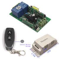 Sleeplion 110V 220V 240V 2CH RF Wireless 315/433MHz Remote Control Switch Relay Universal Light Home Appliance Relay Switch