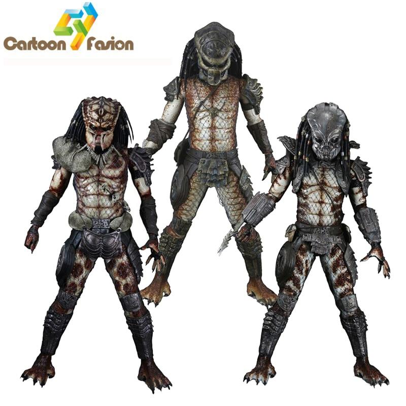 NECA Movie AVP Aliens vs Predator Series Guardian Predator Snake Predator Stalker Predator Toys PVC Figure Model Gift neca aliens vs predator 7 inches 21cm lone wolf predator