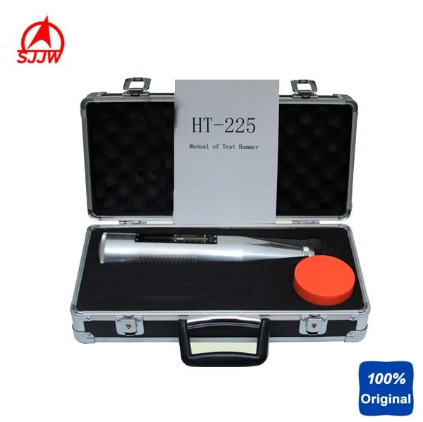 New Portable Concrete Rebound Test Hammer Schmidt Hammer Testing Equipment Resiliomete HT-225 (Black Instrument Case)