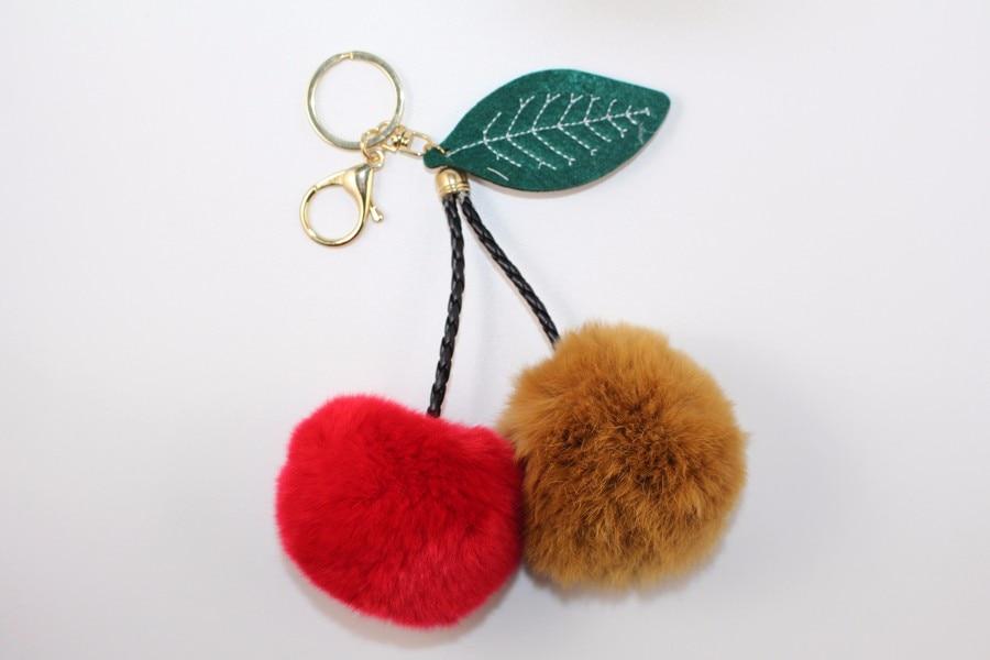 Fur Ball Keychain 01