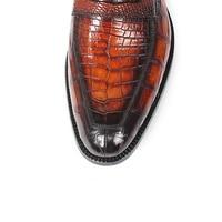 Alligator Slip-On Shoes 5