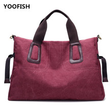New canvas bag women single shoulder slant across large capacity simple fashion casual Hot sale XZ-087.