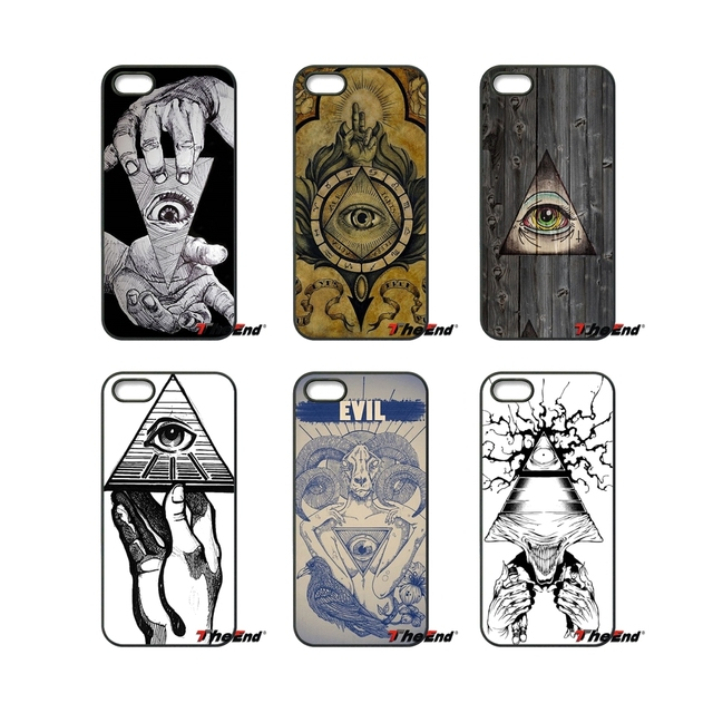 Illuminati Symbol Eye Pyramid Fashion Phone Case For Samsung Galaxy