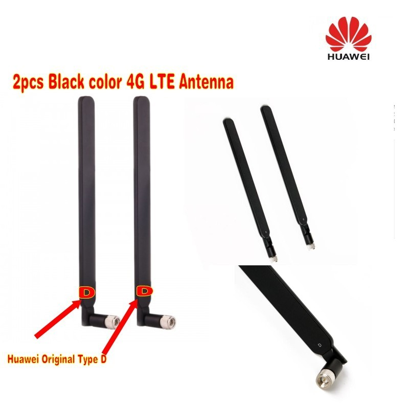 Black color 5dbi 4G LTE antenna 100% huawei b593 B890 B315 B310 B880 with  sma connector Letter D