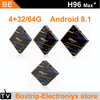 Алиэкспресс Иркутск - 4PCSLOT H96 max plus android 8.1 rk3328 smart tv box 4gb ram 32gb64gb rom 2.4G5G dual WIFI and built-in BT 4.0 , aliexpress shopping ru, товары с aliexpress, купить на алиэкспресс