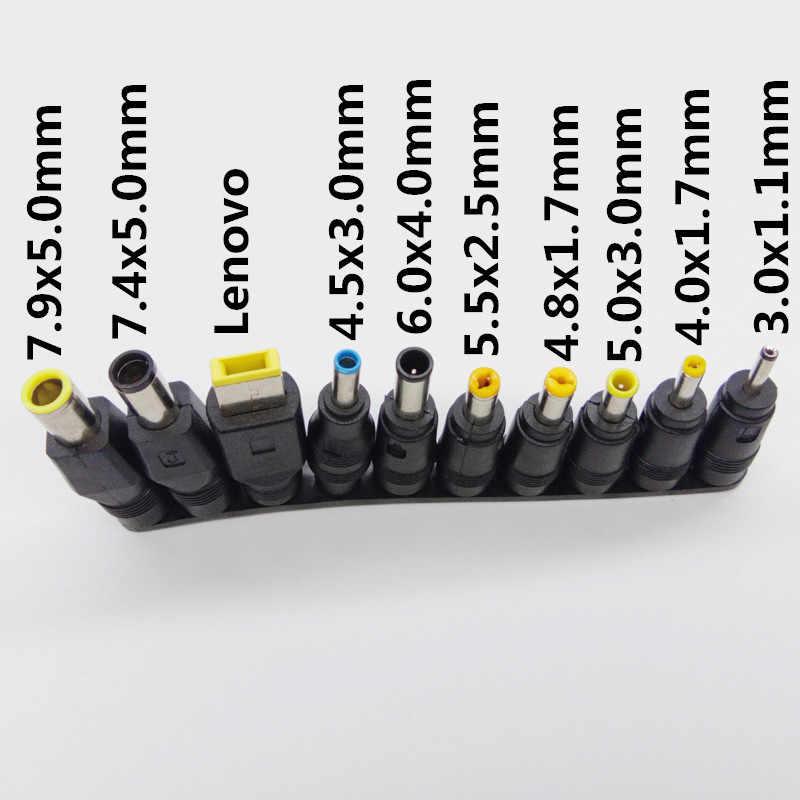 Adaptador de corriente Universal 96W 12V a 24V ajustable 15V 16V 18V 19V 20V AC Fuente de alimentación cargador portátil 10-consejos de la UE nos UK AU enchufe