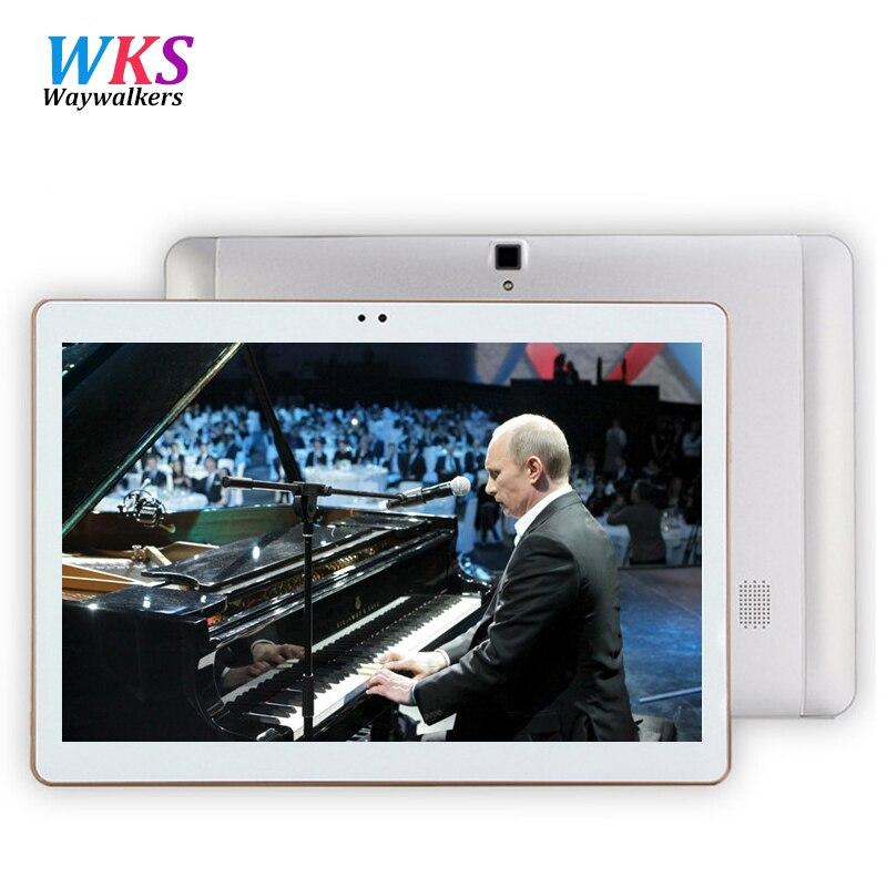 S106 waywalkers más reciente 4g 10 pulgadas tablet pc android 6.0 octa core 4 GB
