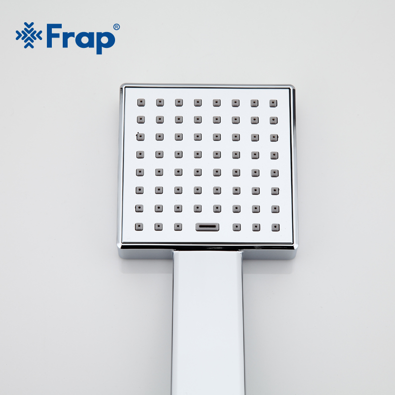 Frap Water saving Square shower head ABS plastic hand hold bath shower Bathroom Accessories F002