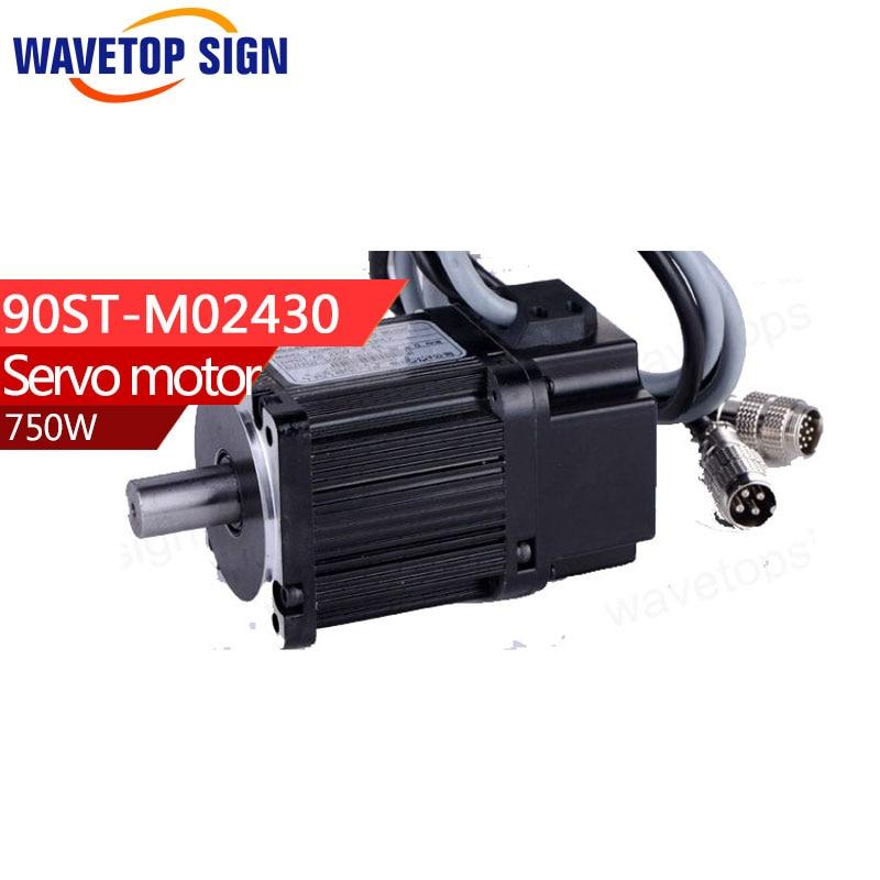цена на Servo motor 90ST-M02430/750w 2.4N.M /3000rpm