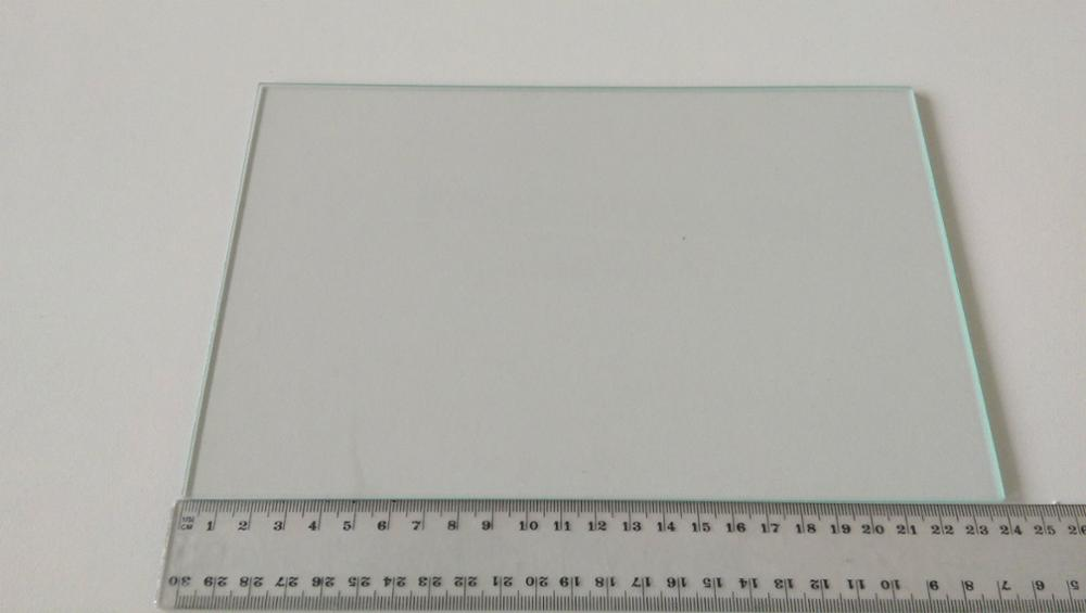 Horizon Elephant 3D printer spare parts heated bed borosilicate glass plate for Dreamer, Pro and Creator 235×155