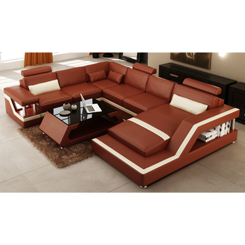 U Shaped Sofa Low Cost Modern