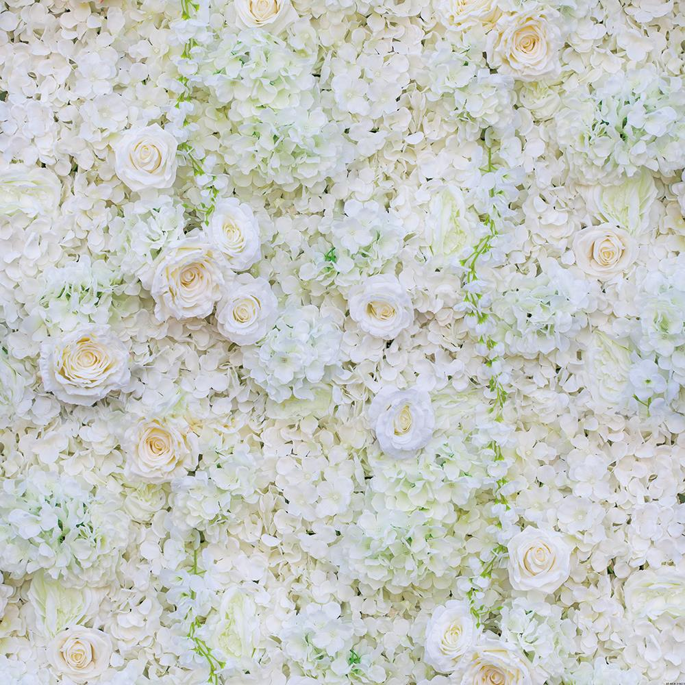 6x3m White Roses Flowers Photography Backdrops Wedding Floral Wall Valentine's Day Photoshooting Studio Background Props XT-6618 300 200cm photography backdrops white wall with flowers wedding backgrounds for photo studio digital photos backdrops props