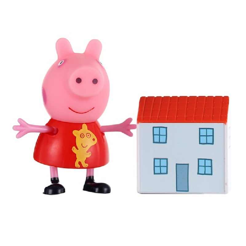 Genuine Peppa Pig Friend Zoe Zebra Susy Sheep Danny Dog George Pig And Their Toys Children S Toy Gift