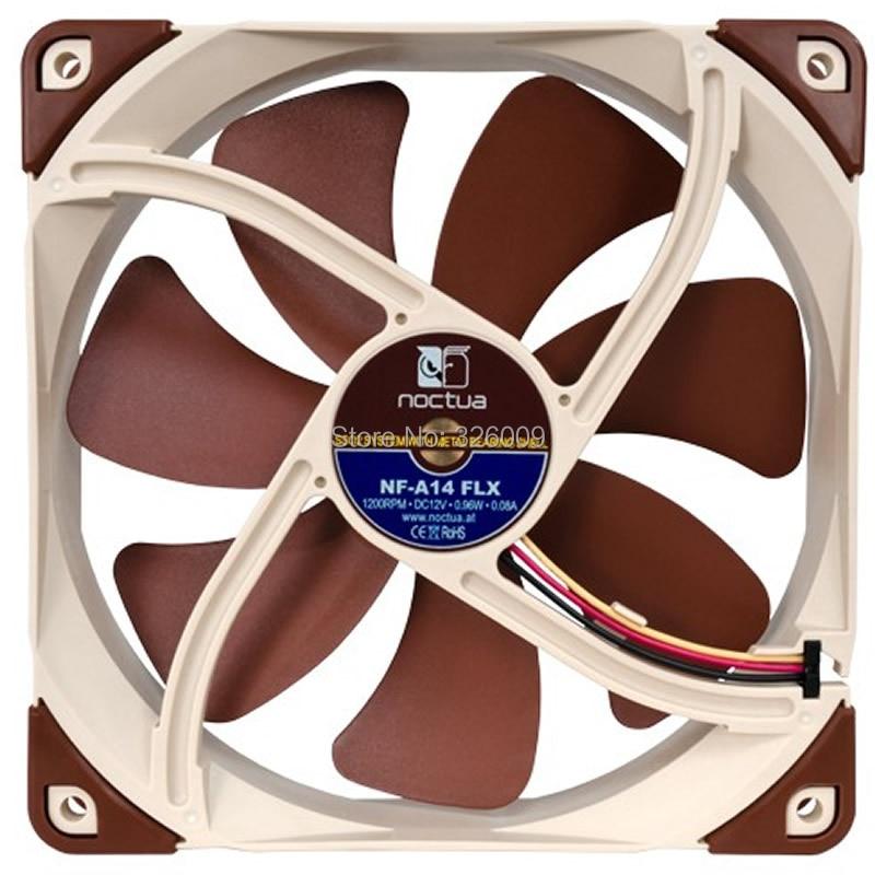 Brand new original, Noctua NF-A14 ULN fan, 14cm, Silent 9.1dBA, 3pin fan, SSO2 Bearing brand new original authentic brs15b