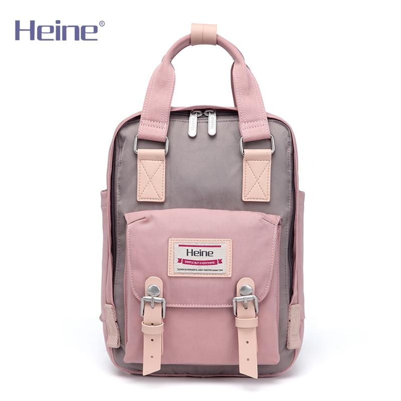 Heine Big Nylon Mummy Diaper Bag Baby Care Travel Nappy Changing - Pañales y entrenamiento para ir al baño - foto 2